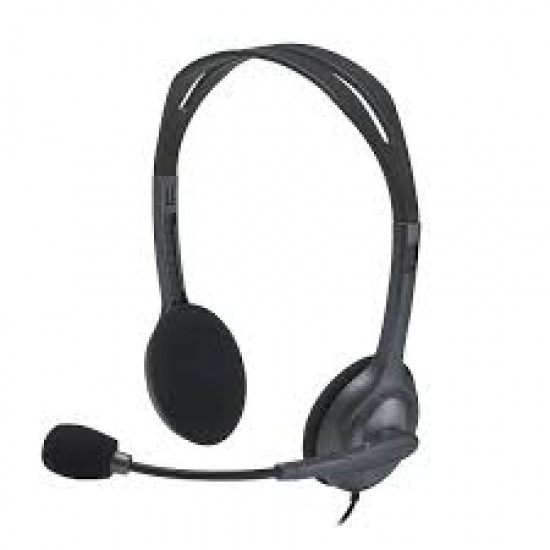LOGITECH H111 WIRED HEADSETS