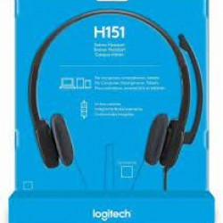 LOGITECH H151 WIRED HEADSETS
