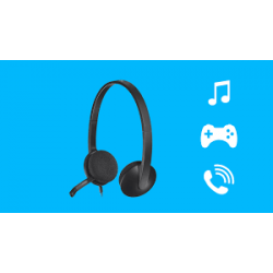 LOGITECH H340 WIRED HEADSETS