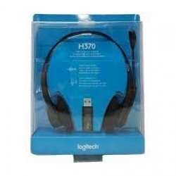LOGITECH H370 WIRED HEADSETS