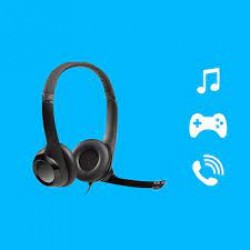 LOGITECH H390 WIRED HEADSETS