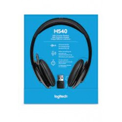 LOGITECH  STEREO H540 WIRED HEADSETS