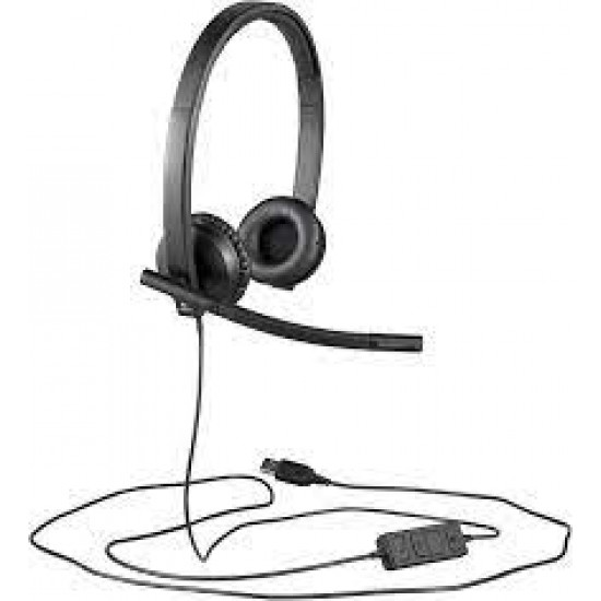 LOGITECH  STEREO H570e WIRED HEADSETS