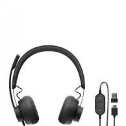 LOGITECH ZONE WIRED HEADSETS